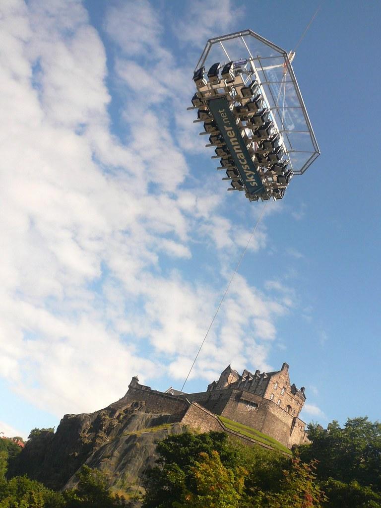 Edinburgh Fringe Festival: Dinner in the Sky & Castle