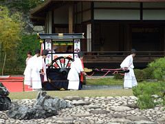 DSCF1353 (NelC) Tags: wedding castle japan kyoto   teahouse nijo     seiryugarden