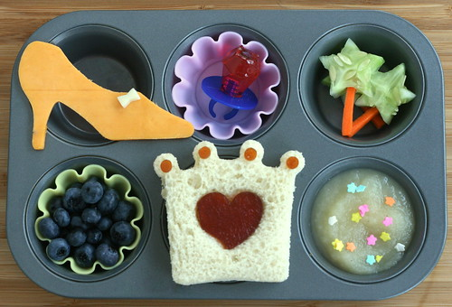 Muffin Tin Monday - pretty pretty princess