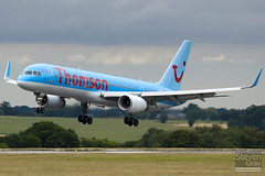 G-OOBC - 33098 - Thomson Airways - Boeing 757-28A - Luton - 100726 - Steven Gray - IMG_8011