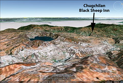 GoogleEarth View of Quilotoa and Chugchilan (Black Sheep Inn) Tags: southamerica ecuador blacksheepinn chugchilan lagunaquilotoa