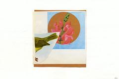 matt & therese (jody-rodgers) Tags: flower bird collage illustration simplicity 2010 snapdragon jodyrodgers