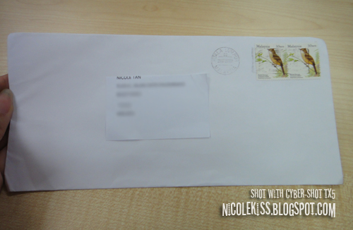 receive a letter