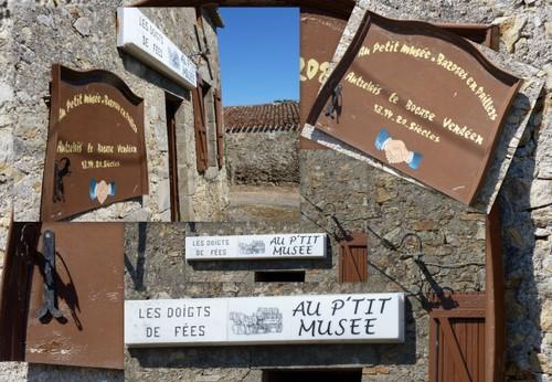 Le P'tit musée, Bazoges-en-Paillers (Vendée)