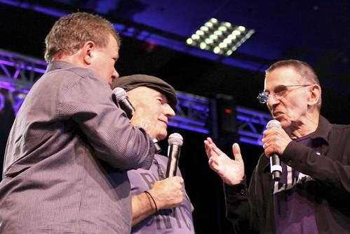 Shatner, Stewart, & Nimoy