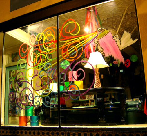 Claassen Gallery Window Display - August 2010