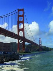FtPoint (NorCalFox) Tags: ocean sf point golden gate san francisco pacific goldengatebridge gateway ft blueskies breakwater ftpoint