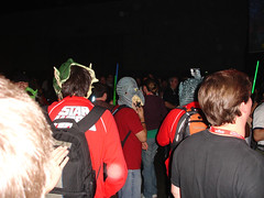 Star Wars Celebration IV - Dance Party creatures (Pop Culture Geek) Tags: starwars costume 4 celebration convention fans danceparty iv watto starwarscelebrationiv
