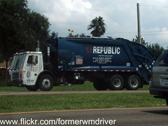 RWS Mack LE / McNeilus REL - 410-166 (FormerWMDriver) Tags: trash truck garbage republic rear collection le rubbish end waste refuse loader load mack services rl sanitation rel rws mcneilus rearloader rearload