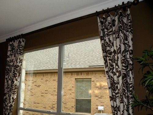 Model Home Curtains give your windows special treatment