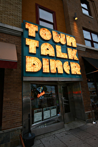 Outside Town Talk Diner
