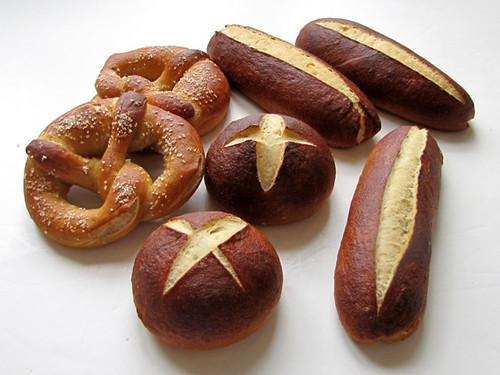 Pretzels and Pretzel Buns
