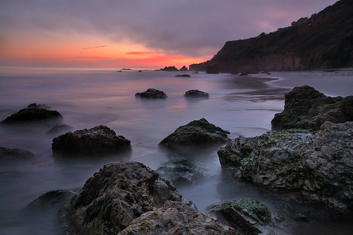 El Matador State Beach, Ca - The Fog and mousetricity.