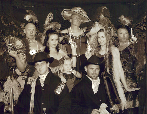 Wild Wild West Old Timey Photo Booth