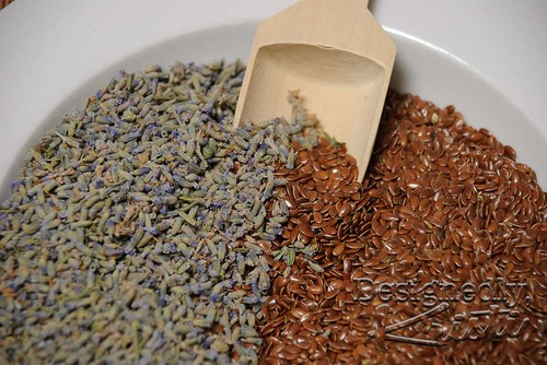Lavender & Flax Seeds