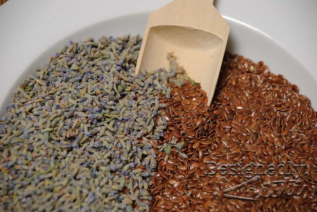 Lavender & Flax Seeds