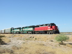 Arizona California Railroad, Parker, AZ (AA654) Tags: california arizona train rail parker gp392 arzc