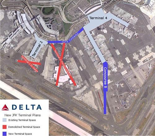 New Delta JFK Terminal