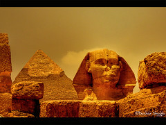 The Great Sphinx ! (Bashar Shglila) Tags: sphinx warm pyramid sony egypt pharaoh abu tones     thegalaxy   hx1 mygearandmepremium mygearandmebronze mygearandmesilver mygearandmegold mygearandmeplatinum mygearandmediamond alhoul
