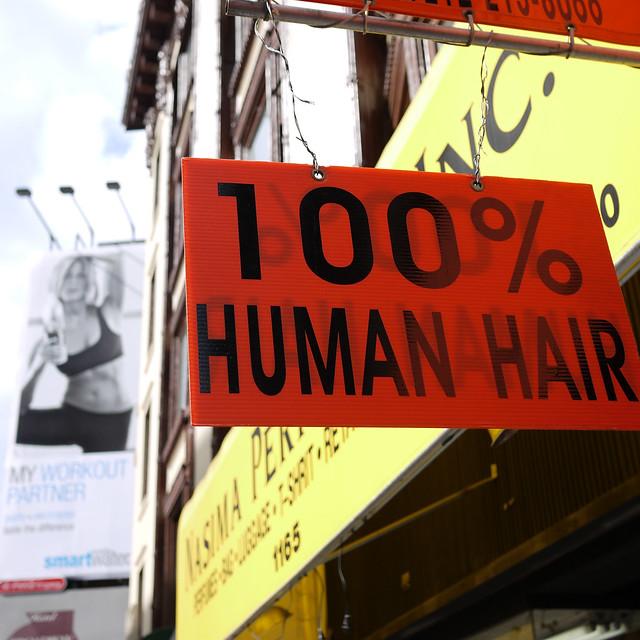 100% Human Hair #walkingtoworktoday