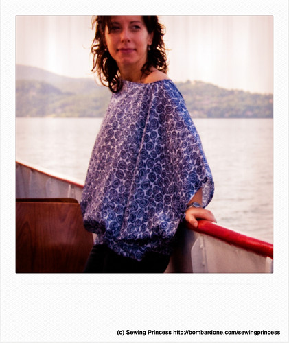 Sailing on the Lake Blouse