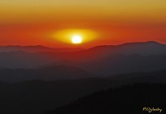 Hypnotized (P. Oglesby) Tags: sunset landscapes nikon tennessee northcarolina nikkor clingmansdome thehighlander godlovesyou coth greatsmokymountainsnp theunforgettablepictures absolutelystunningscapes dragondaggerphotos yourwonderland coth5