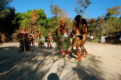 DSC_1023 (semente33) Tags: india xingu ritual terra sul indio tribo aldeia pachamama americano goias indigena cantos paje xama kayaps yawalapitis triboarcoiris