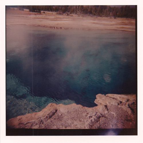Diana camera - 120 film - Yellowstone - Sapphire Pool