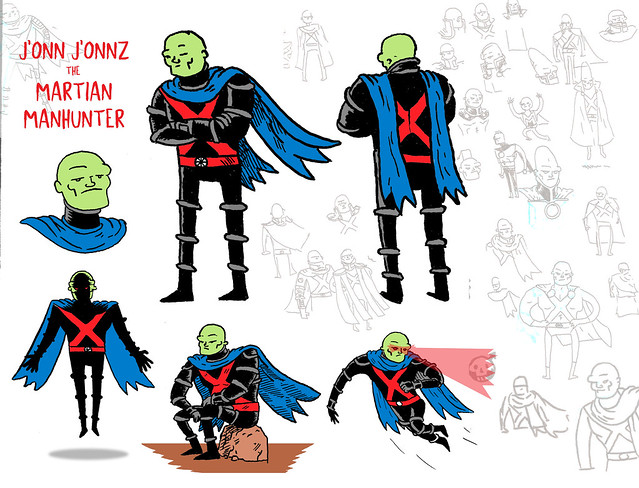 Martian Manhunter costume redesign