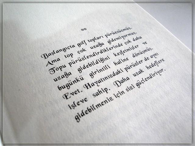 kitaptan bir sayfa