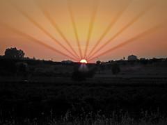 Este abanico gigante no refresca (Richard Alen) Tags: españa spain badajoz ocaso puestasdesol crepúsculo extremadura almendralejo richardalen
