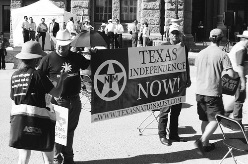 hands off Texas rally