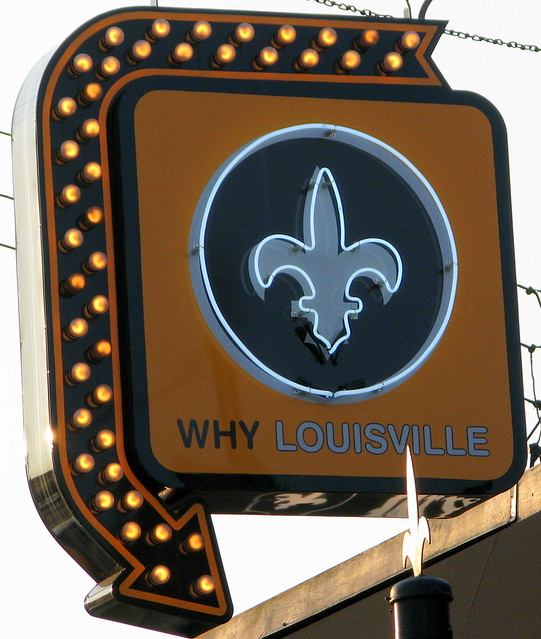 Why Louisville store neon sign