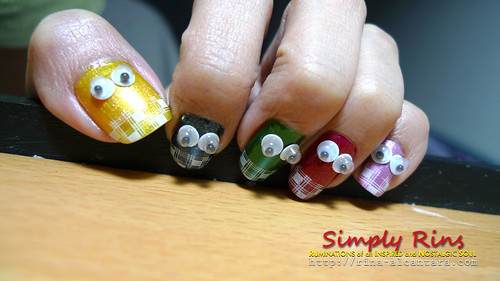 nail art - no place like home 04