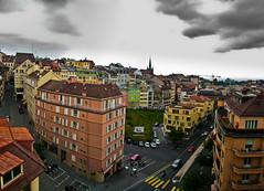 Lausanne pano (1yen) Tags: travel panorama travelling photoshop switzerland europe panoramic lausanne 4exp