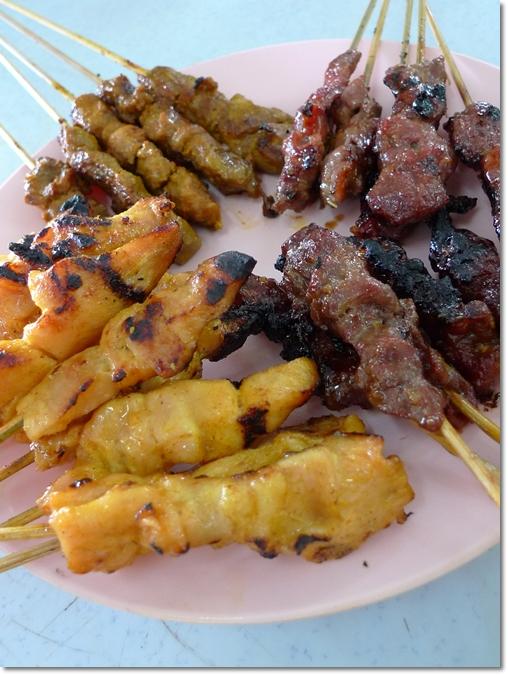 Satay Kajang - Ayam, Lembu, Itik, Kambing
