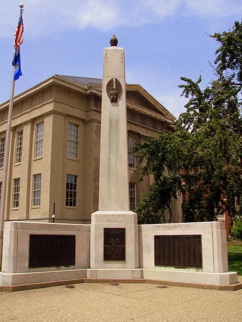 Louisville WWII monument