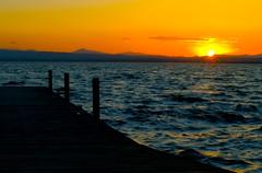 Adios (_Zahira_) Tags: blue sunset sky orange sun sol water valencia azul lafotodelasemana atardecer agua paisaje olympus 100v10f cielo nd puestadesol naranja albufera ngr e500 uro 100vistas ltytr1