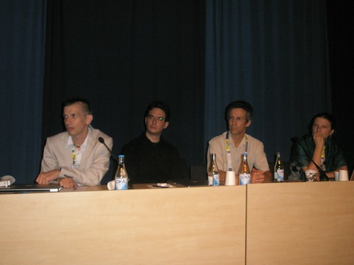 "PATRICK DANOWSKI, ANDREAS HEß, BERNARD VATANT at the Information Technology, Cataloguing, Classification and Indexing with Knowledge Management session ""Libraries and the semantic web"" at IFLA2010 in Gothenburg.  Comments and faves"