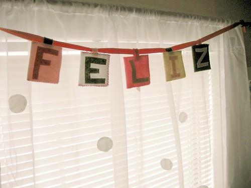 banner + curtain
