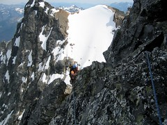 Jon on NE Buttress of Goode III