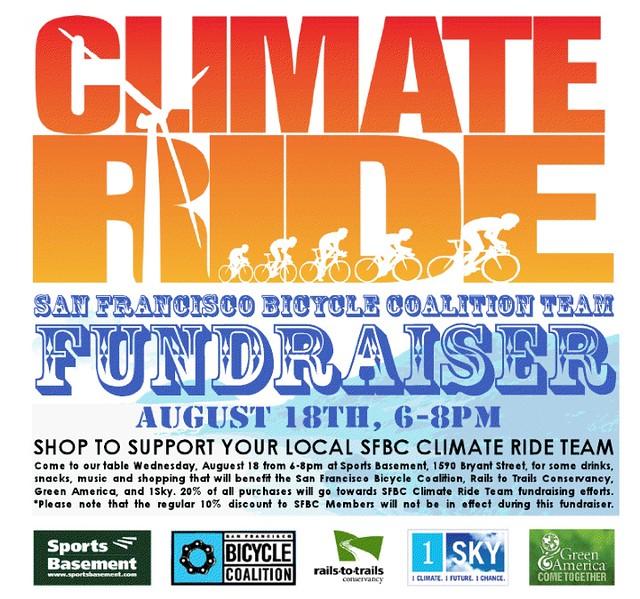 Lynne's SFBC Climate Ride Fundraiser