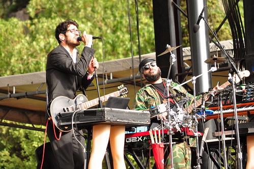 Chromeo at Outside Lands
