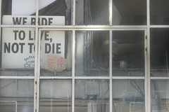 WE RIDE TO LIVE NOT TO DIE (bmeabroad) Tags: foundinsf gwsf