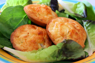 crustless salmon tartlets 9352 R