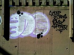 (maxwell colette) Tags: streetart chicago art graffiti tags graff burners throwups throwup chicagostreetart