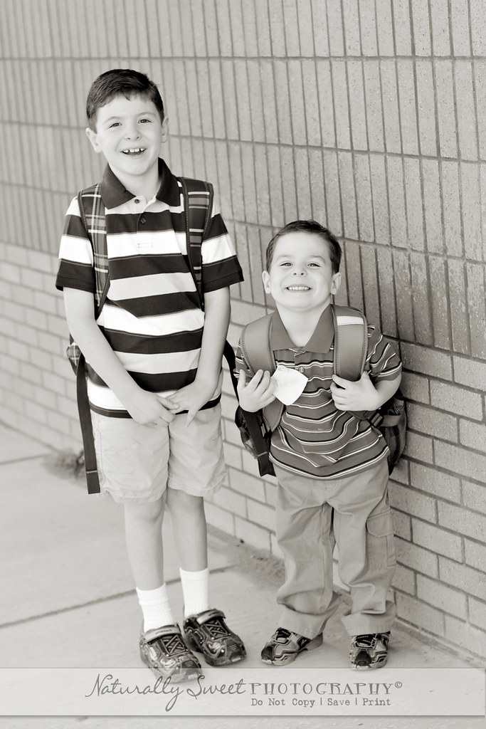 first day of school 2010 bw rs