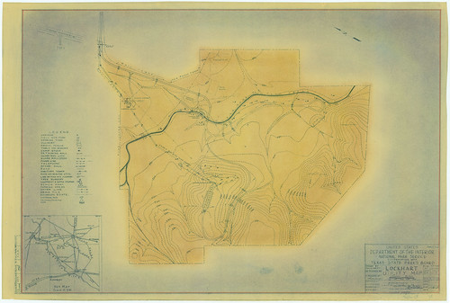 Lockhart State Park - Utility Map - SP51_118