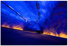 Lærdalstunnelen. 24,5 km long. (Mariusz Petelicki) Tags: norway norge tunel aurland laerdal norwegia skandynawia lærdalstunnelen mariuszpetelicki