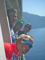 4Giroheads heading to Bellagio (Pyops) Tags: vacation bicycling oth